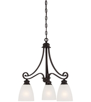 Picture for category Thomas TK0016704 Haen Chandeliers 19in Espresso 3-light