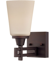 Picture for category Thomas TN0007704 Wright Wall Sconces 5in Espresso 1-light