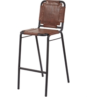 Picture for category Dimond Home 161-002 Chairs Tobacco and Black Iron Cow Leather Iron Industrial
