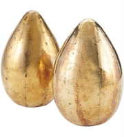 Picture for category Dimond Home 178-024/S2 Decor Pale Gold Wood Brass Egg