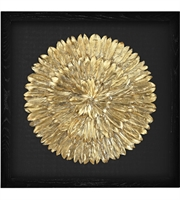 Picture for category Dimond Home 3168-019 Decor Gold and Black Feather Wood Feather Spiral
