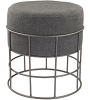 Picture for category Dimond Home 3200-010 Chairs Pewter and Grey Metal Linen Pewter