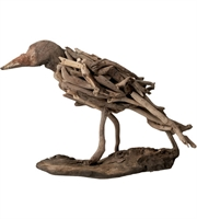 Picture for category Dimond Home 356002 Decor Brown Driftwood Bird