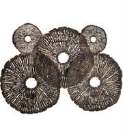 Picture for category Dimond Home 8468-059 Decor Oil Rubbed Gold Iron Coral Discs