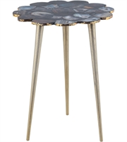Picture for category Dimond Home 8986-001 Tables Gold Black Agate Aluminium Knossos