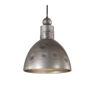Picture for category Pendants 1 Light With Aged Gray Burnished Rust Accents Metal Material 14 inch 100 Watts