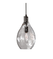 Picture for category Mini Pendants 1 Light With Matte Black Finish Metal Glass Material 4 inch 60 Watts