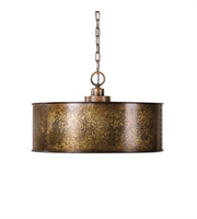 Picture for category Pendants 3 Light With Light Gold Finish Metal Material Carolyn Kinder Designer 20 inch 300 Watts