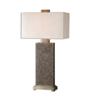 Picture for category Table Lamps 1 Light With Coffee Bronze Finish Metal Resin Fabric Material 32 inch 150 Watts