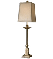 Picture for category Table Lamps 1 Light With Lightly Aged Bronze Finish Metal Material 34 inch 100 Watts