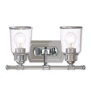 Picture for category Livex Lighting 10512-05 Bath Lighting Polished Chrome Steel Lawrenceille