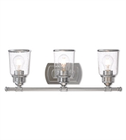 Picture for category Livex Lighting 10513-05 Bath Lighting Polished Chrome Steel Lawrenceille