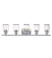 Picture for category Livex Lighting 10515-05 Bath Lighting Polished Chrome Steel Lawrenceille
