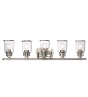Picture for category Livex Lighting 10515-91 Bath Lighting Brushed Nickel Steel Lawrenceille