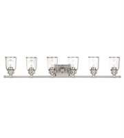 Picture for category Livex Lighting 10516-91 Bath Lighting Brushed Nickel Steel Lawrenceille
