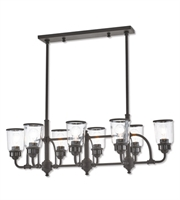 Picture for category Livex Lighting 40028-07 Island Lighting Bronze Steel Lawrenceille