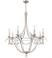 Picture for category World of Lighting WL105360 Chandeliers Antique Siler Wrought Iron Monterey