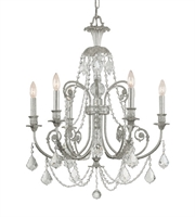 Picture for category World of Lighting WL121895 Chandeliers Olde Siler Wrought Iron Atlanta