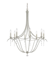 Picture for category World of Lighting WL13828 Chandeliers Antique Siler Wrought Iron Shenyang