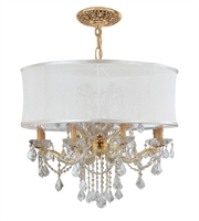 Picture for category World of Lighting WL2166 Chandeliers Gold Glass Santa Clarita