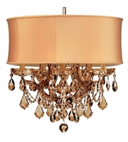 Picture for category World of Lighting WL2655 Mini Chandeliers Antique Brass Glass Santa Clarita