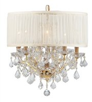 Picture for category World of Lighting WL2667 Chandeliers Gold Glass Santa Clarita