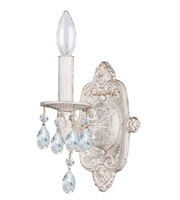 Picture for category World of Lighting WL2841 Wall Sconces Antique White Wrought Iron Detroit