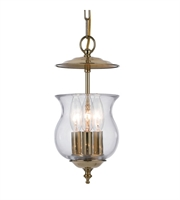Picture for category World of Lighting WL48723 Pendants Polished Brass Brass Grand Prairie