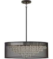 Picture for category Pendants 8 Light With Black Finish Steel Material Candelabra Base 30 inch 480 Watts