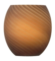 Picture for category Lighting Shades Light With Pompano Beach Sandstone Finish Glass Material 6 inch 0 Watts