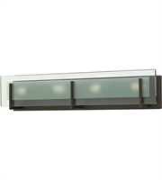 "Picture for category Bathroom Vanity 4 Light Fixtures With Oil Rubbed Bronze Finish Steel Material G9 26"" 240 Watts"
