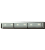 "Picture for category Bathroom Vanity 6 Light Fixtures With Oil Rubbed Bronze Finish Steel Material G9 38"" 360 Watts"
