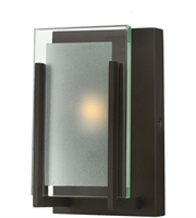 Picture for category Bathroom Vanity 1 Light With Oil Rubbed Bronze Clear Beveled Inside-Etched G9 5 inch 60 Watts