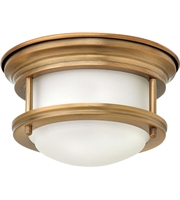Picture for category Flush Mounts Fixtures With Brushed Bronze Tone In Finished Steel Material size 8""