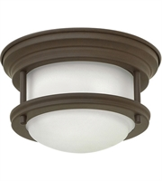 Picture for category Flush Mounts Fixtures With Oil Rubbed Bronze Tone In Finished Steel Material 8""