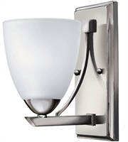 Picture for category Bathroom Vanity 1 Light With Chrome Etched Opal Metal Medium Base 5 inch 100 Watts