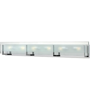 "Picture for category Bathroom Vanity 6 Light Fixtures With Chrome Finish Steel Material G9 38"" 360 Watts"