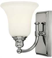 Picture for category Bathroom Vanity 1 Light With Chrome Etched Opal Steel Drum Medium Base 6 inch 100 Watts