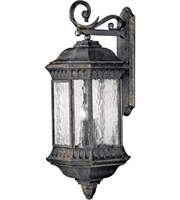 "Picture for category Wall Sconces 4 Light Fixtures With Black Granite Finish Cast Aluminum Material Candelabra 12"" 160 Watts"