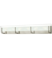 "Picture for category Bathroom Vanity 6 Light Fixtures With Brushed Nickel Finish Steel Material G9 38"" 360 Watts"