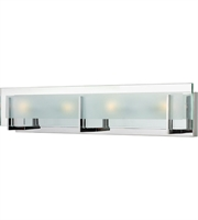 "Picture for category Bathroom Vanity 4 Light Fixtures With Chrome Finish Steel Material G9 26"" 240 Watts"