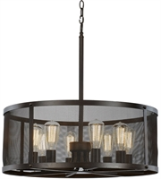 Picture for category Trans Globe Lighting 10228 ROB Pendants Rubbed Oil Bronze Metal Mesh