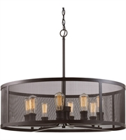 Picture for category Trans Globe Lighting 10229 ROB Pendants Rubbed Oil Bronze Metal Mesh
