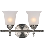 Picture for category Trans Globe Lighting 20392 BN Wall Sconces Brushed Nickel Metal Gassaway
