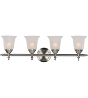 Picture for category Trans Globe Lighting 20394 BN Wall Sconces Brushed Nickel Metal Gassaway