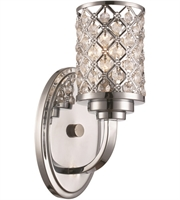Picture for category Trans Globe Lighting 70911 PC Wall Sconces Polished Chrome Metal Infusion