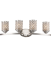 Picture for category Trans Globe Lighting 70914 PC Wall Sconces Polished Chrome Metal Infusion
