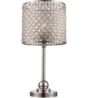 Picture for category Trans Globe Lighting CTL-595 Table Lamps Polished Chrome Metal Infusion