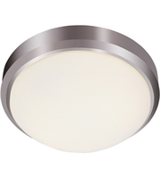 Picture for category Trans Globe Lighting LED-13880 BN Flush Mounts Brushed Nickel Metal Bliss
