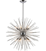 Picture for category Trans Globe Lighting MDN-1453 PC Pendants Polished Chrome Metal Collina